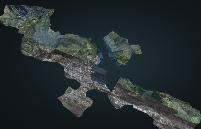 Lugano, point cloud sample
